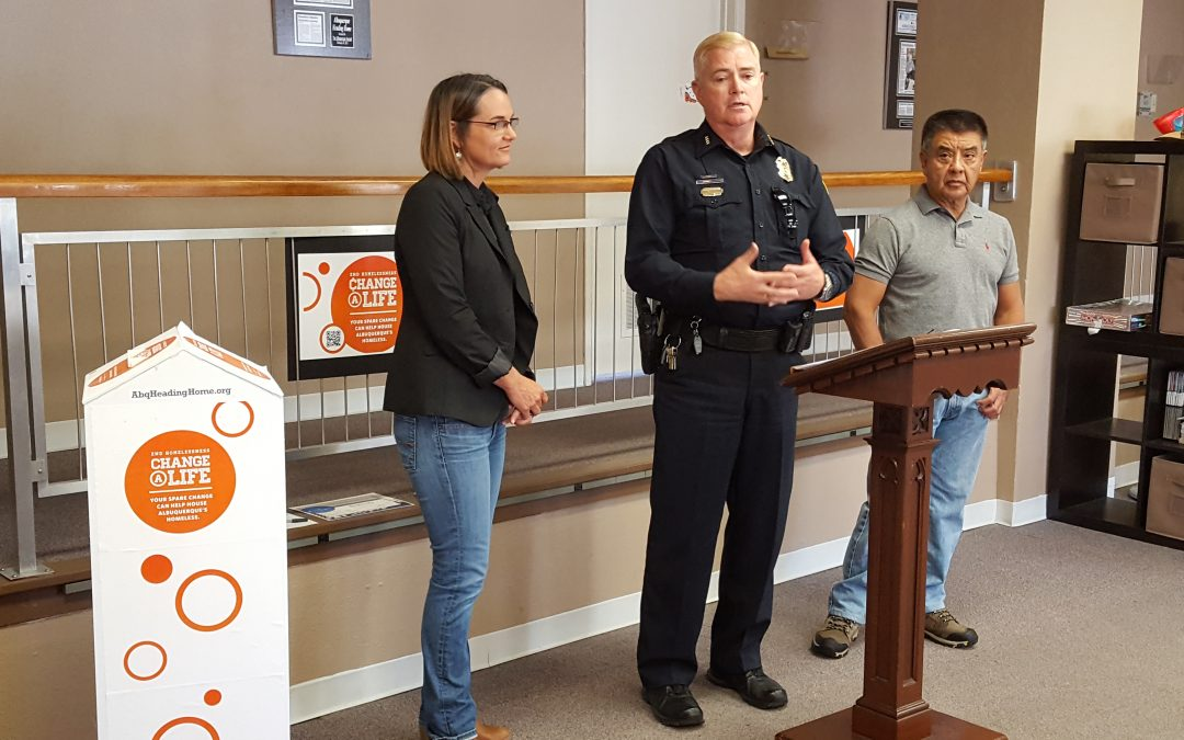 "Proceeds from Heading Home's ""¢hange a Life"" Receptacle to Benefit People Helped by APD's COAST"