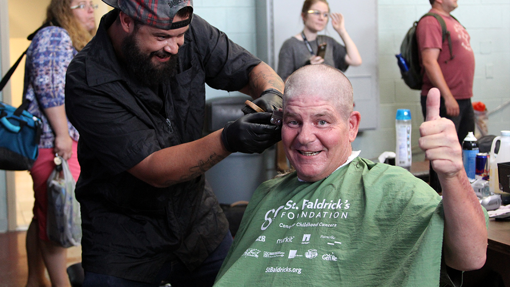 The Barber's Shop Provides Haircuts for AOC Residents