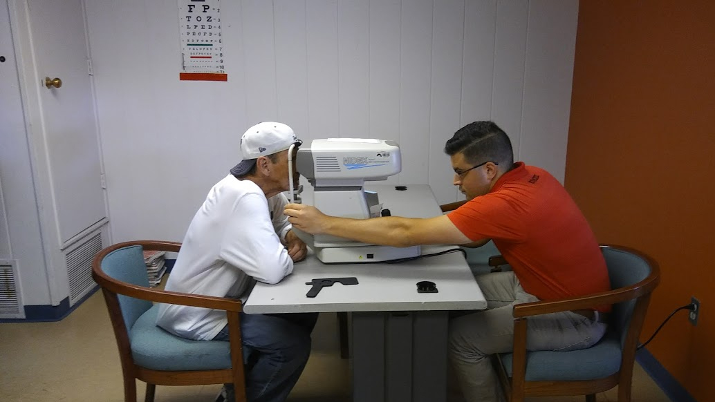 AOC Residents Get Eye Exams