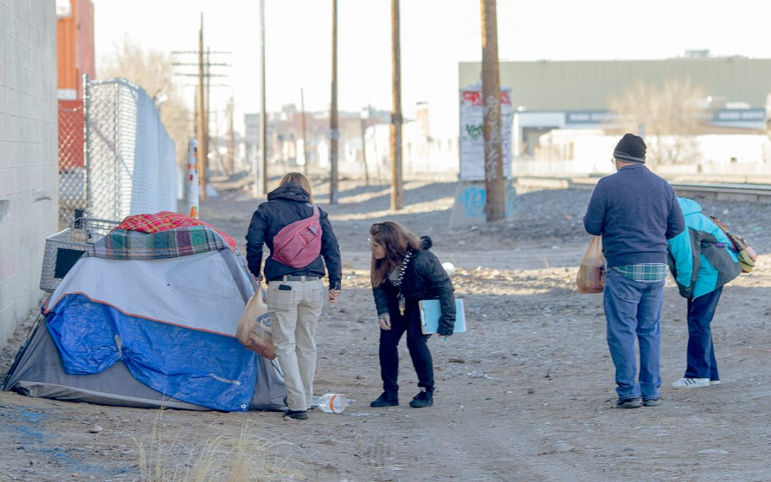 PIT Count Aims to Determine Number of Homeless in ABQ
