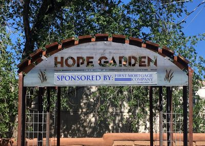 """AOC's """"Hope Garden"""" Sponsored by First Mortgage"""