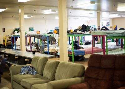 Intern Sam Mahoney goes undercover at Heading Home shelters