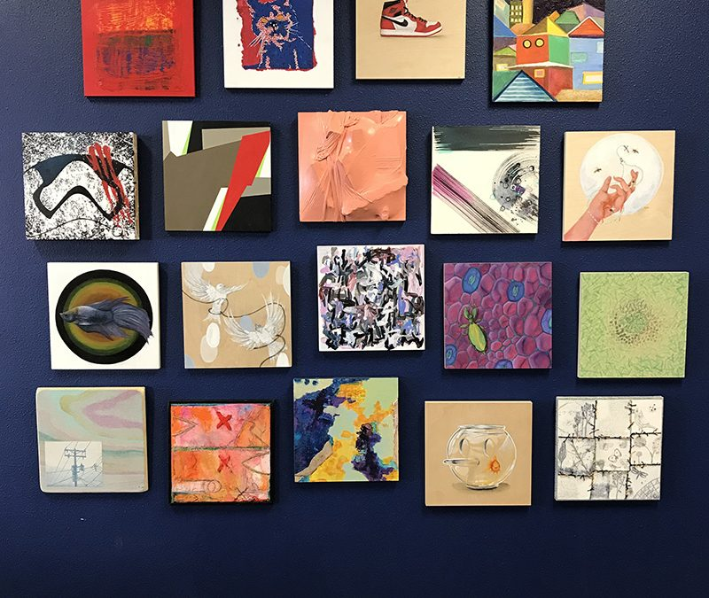 Harwood Art Center Provides Artwork for Newly-Housed Clients