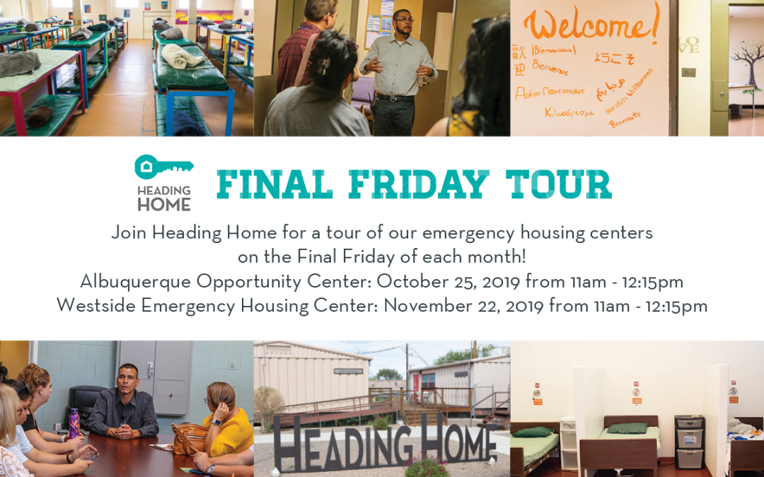 "Join Heading Home for ""Final Friday"" Tours"