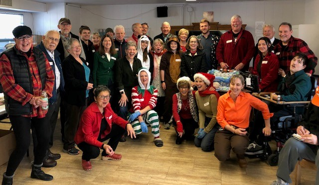 12 Years and Counting! Compassionate Diaspora Serves Christmas Dinner at AOC