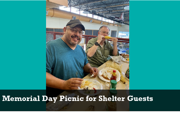 Memorial Day Picnic for Shelter Guests