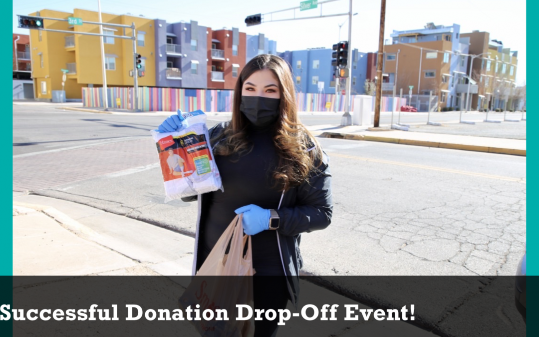Successful Donation Drop-Off Event!